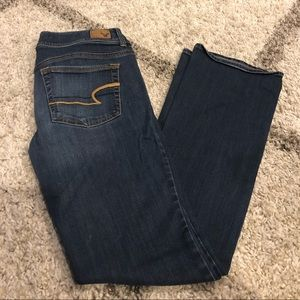 """AE """"Kick Boot"""" Style Jeans"""